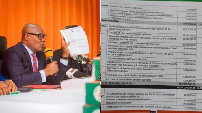 An bankado yadda Gwamna Emmanuel ya yi bushasha da kudin Talakawa