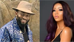 Guide and protect them - Uti Nwachukwu says as he prays for Mercy Eke's family after Tacha's fans declared her mom dead