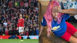 Man United embarrassing 5-0 defeat to Liverpool leaves DJ Cuppy in tatters as she wastes Nigerian Jollof