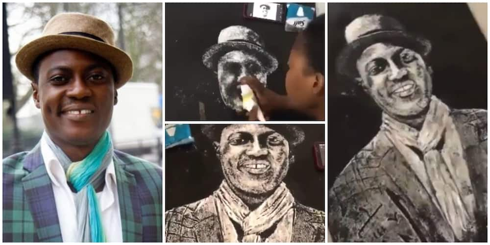 Sound Sultan: Artist pays tribute to singer.
