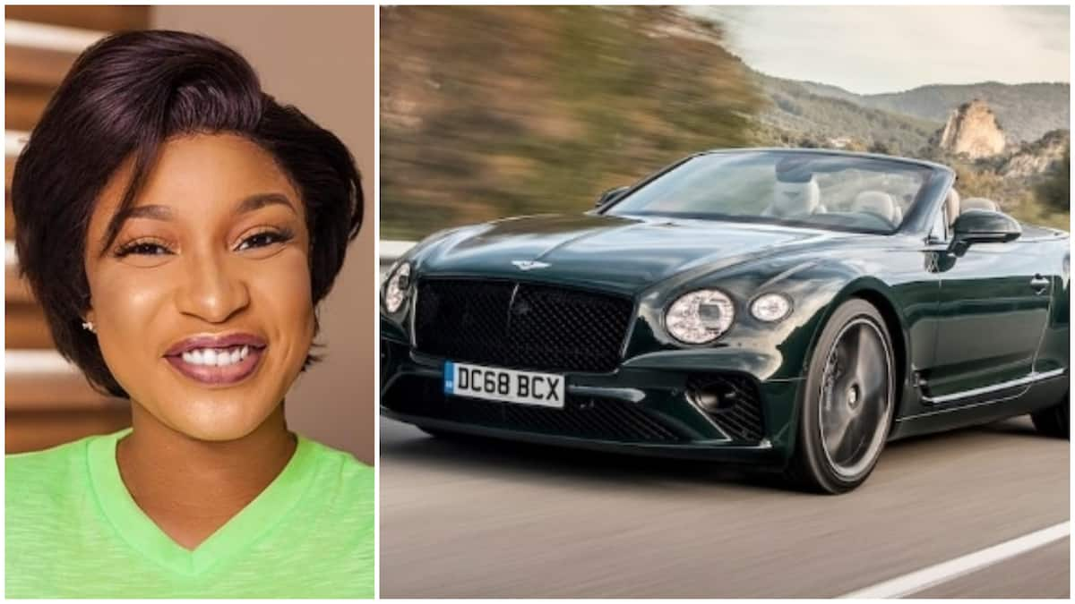 Image result for Nollywood actress Tonto Dikeh reportedly buys new Bentley (photos)