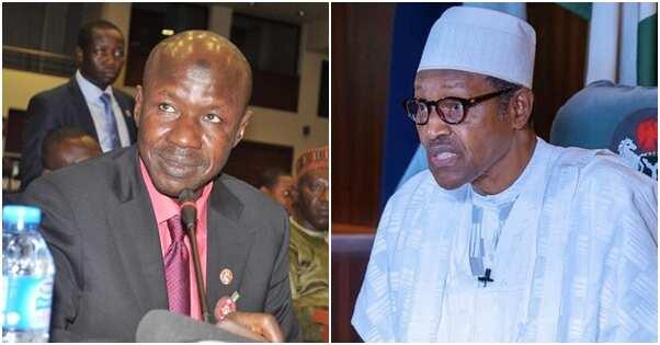 President Buhari approves Ibrahim Magu's suspension