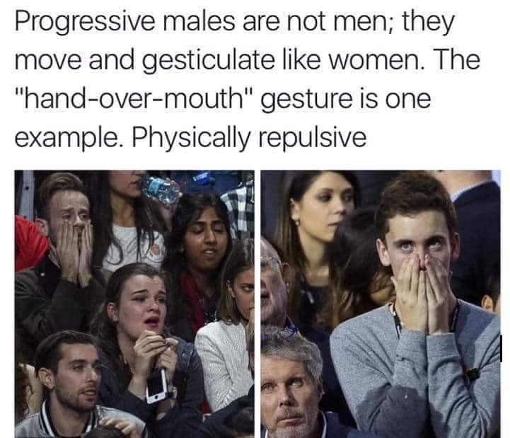 Masculinity is fragile