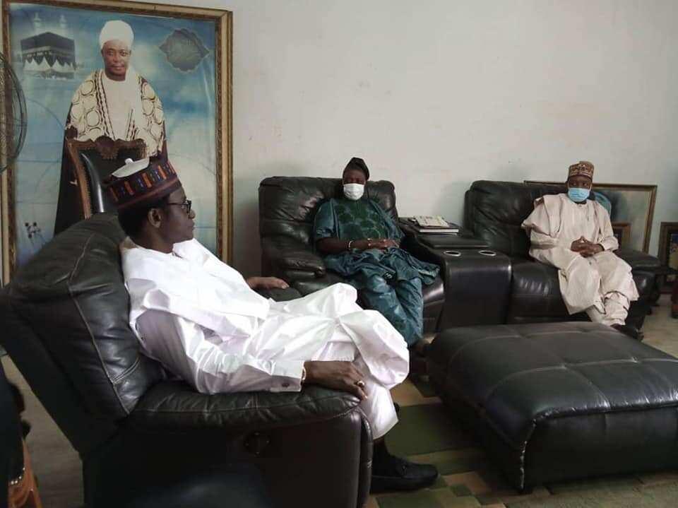 Buni, other APC Chieftains Meet Ladoja in Ibadan