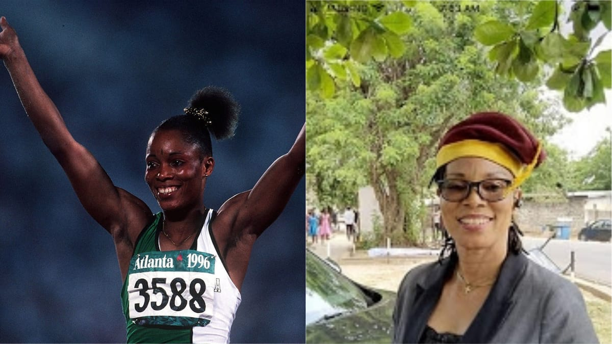 Chioma Ajunwa, Nigeria's first Olympic gold medalist, bags MSc degree in Unilag