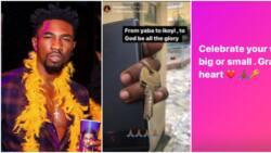 From Yaba to Ikoyi: BBNaija star Boma celebrates upgraded living condition, flaunts keys