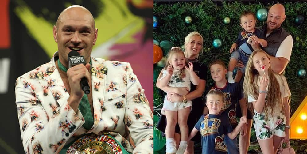 WBC champion Tyson Fury reveals he is expecting 6t child from wife Paris