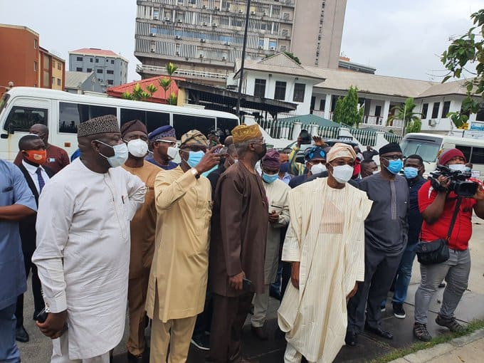 EndSARS: Southwest governors, ministers commiserate with Sanwo-Olu