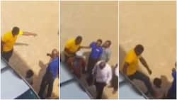 Angry dad belts son in public after scamming him of N800,000 for school supplies (video)