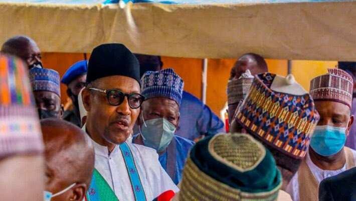 "Picture of Buhari, APC governors ""violating COVID-19 protocols"" cause stir"