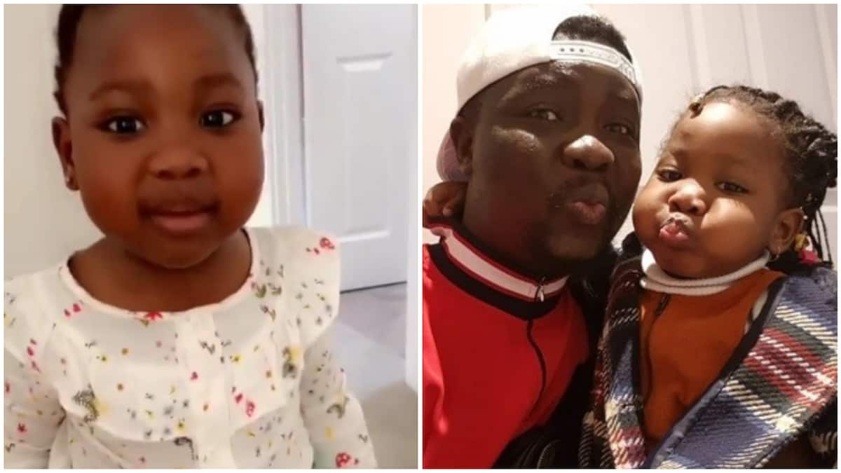 Comedian Seyi Law emotional as daughter Tiwa wishes him a happy birthday in adorable video