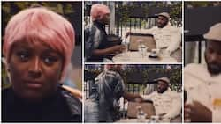 DJ Cuppy pours drink on Kiddwaya for telling her to 'drop billionaire attitude' and find a man in trending video