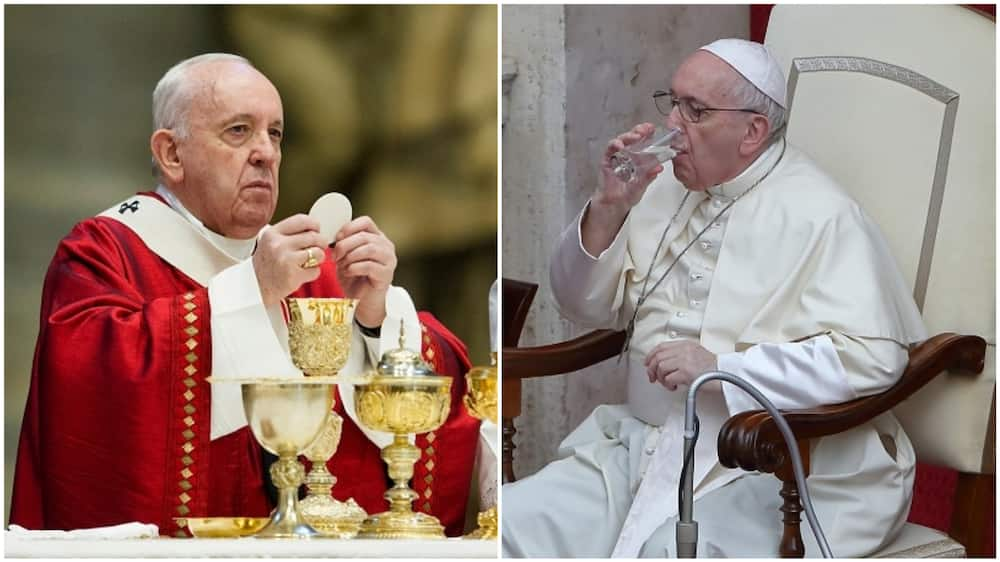 A collage showing the Pope. Photo source: Getty Images
