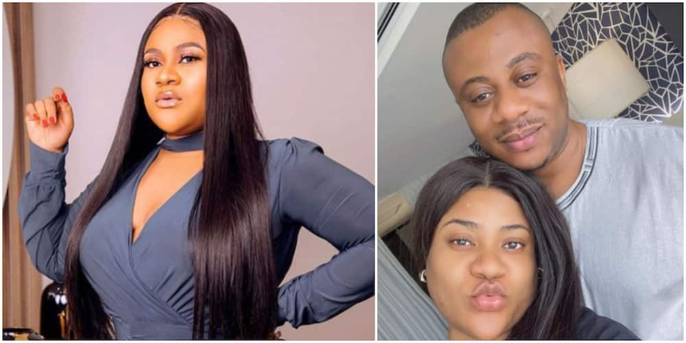 Nkechi Blessing and her hubby are in love