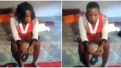 Man left confused as he finds out that prostitute he picked up from Abuja club is a male cross-dresser (video)