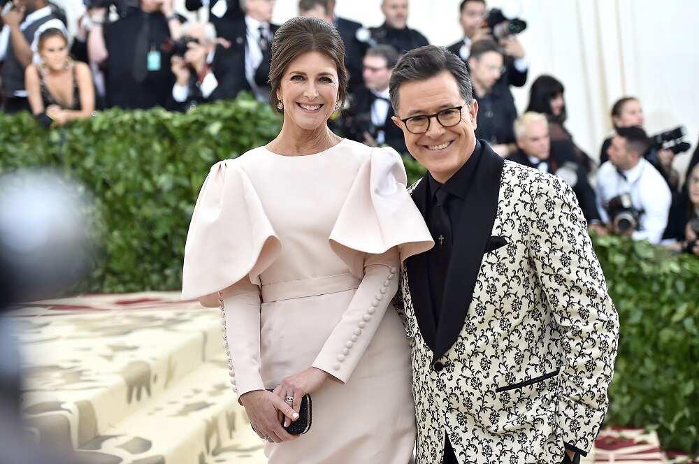 how did Stephen Colbert meet his wife?