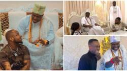11 Nigerian celebrities who have been spotted with Ooni of Ife Oba Adeyeye Ogunwusi