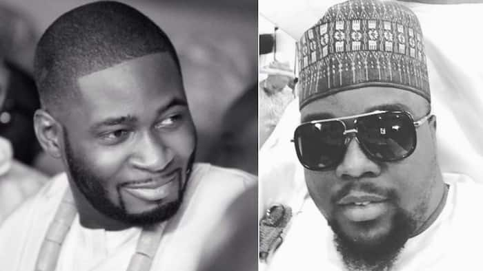 You taught me true friendship - Teebillz says as he wishes Omawumi's husband happy birthday
