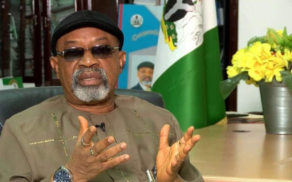 Ngige says unemployment fuels insecurity in Nigeria.