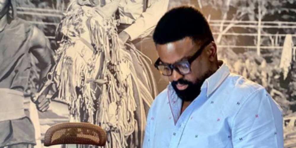 Inside Kunle Afolayan's beautiful art inspired home