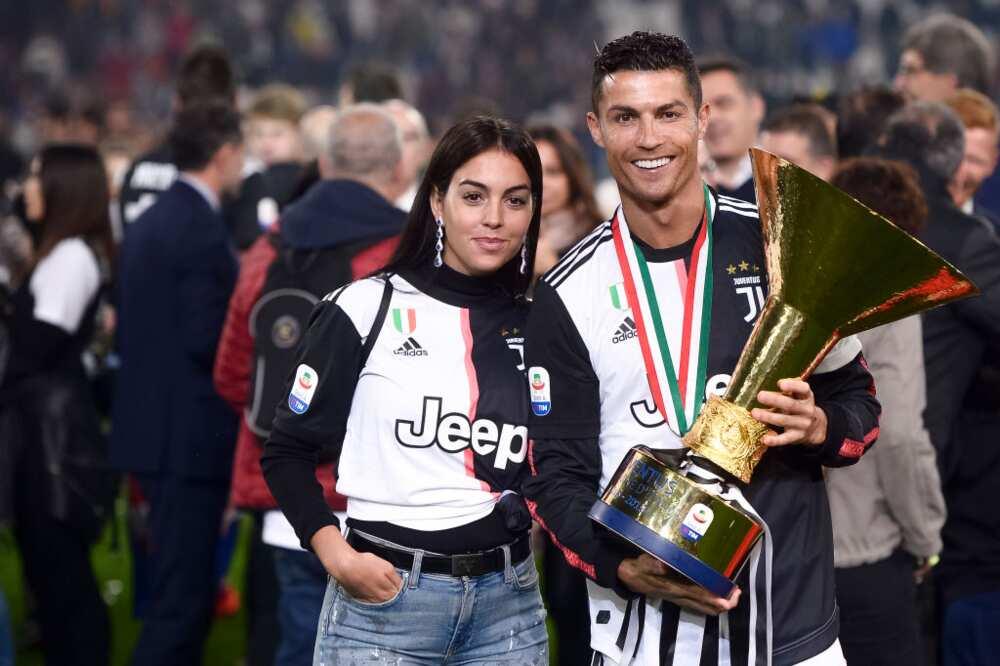 Ronaldo's girlfriend