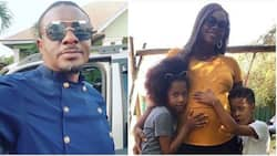 Actor Emeka Ike and South African girlfriend reportedly expecting first child together (photos)
