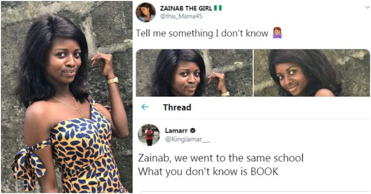 What you don't know is book - Man tells lady on Twitter in funny conversation