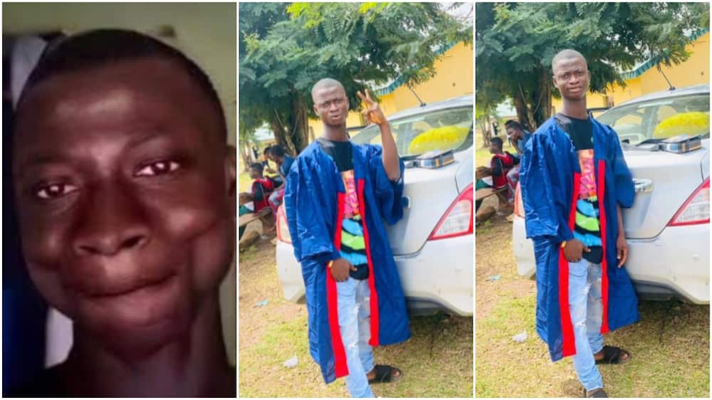 Many people celebrated his matric day.