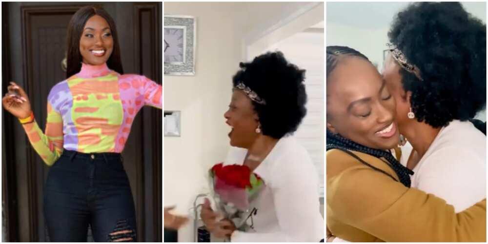 Nollywood actress Linda Osifo grants her mother's Christmas wish (video)