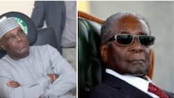 Robert Mugabe was a hero - Atiku pays glowing tribute to former Zimbabwean president