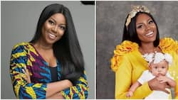 Actress Yvonne Nelson spends quality time with her daughter and baby daddy in UK