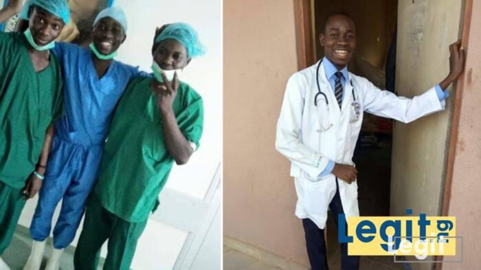 Meet Oduoye Malik Olatunde the disabled 600 level medical undergraduate who needs financial assistance