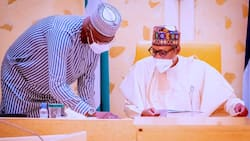 Why I've deep respect for you - Buhari tells appointee amid cabinet reshuffle