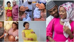 5 Nigerian women who gave birth to twins, triplets after many years of waiting and their adorable photos