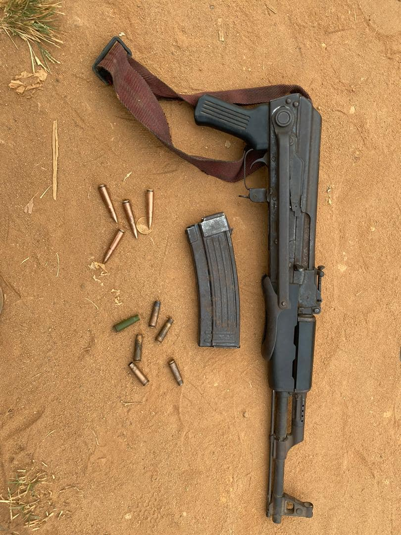 Troops neutralise armed bandits in Benue, recover arms