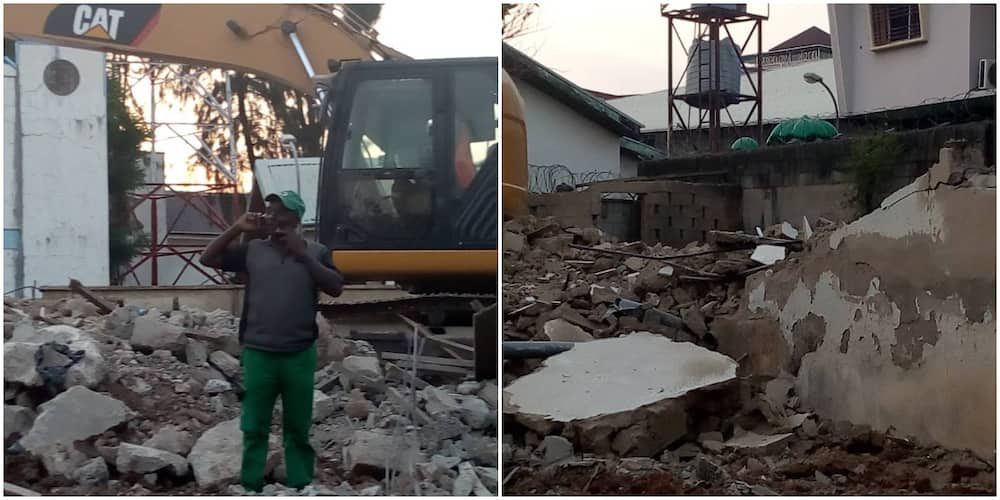 AMCON accused of demolishing property worth over N400 million of a contractor owed by government