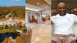 Inside Mike Tyson's incredible 52-room mansion he sold to rapper 50 Cent for £3.3m