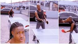 Rapper Lil Kesh willing to bet $1000 on dad's tennis skills, shares video of his performance