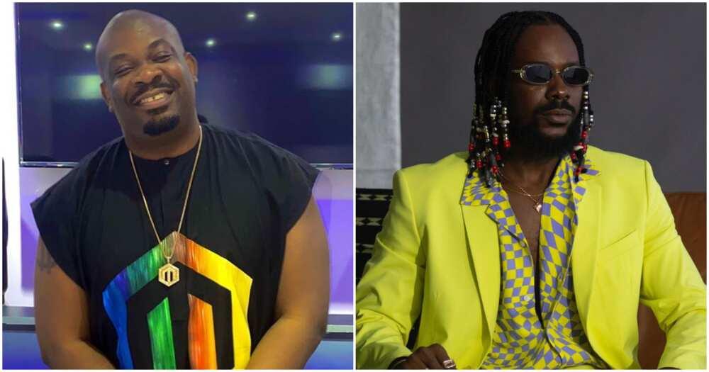 Don Jazzy and Adekunle Gold