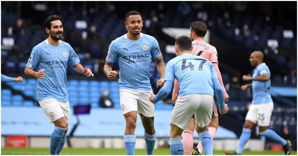 Man City vs Sheffield United: Jesus sends Citizens 4 points clear