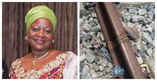 Who did this to us, Buhari's Aide Laments, Shares Video as Vandals Destroy New Rail Lines