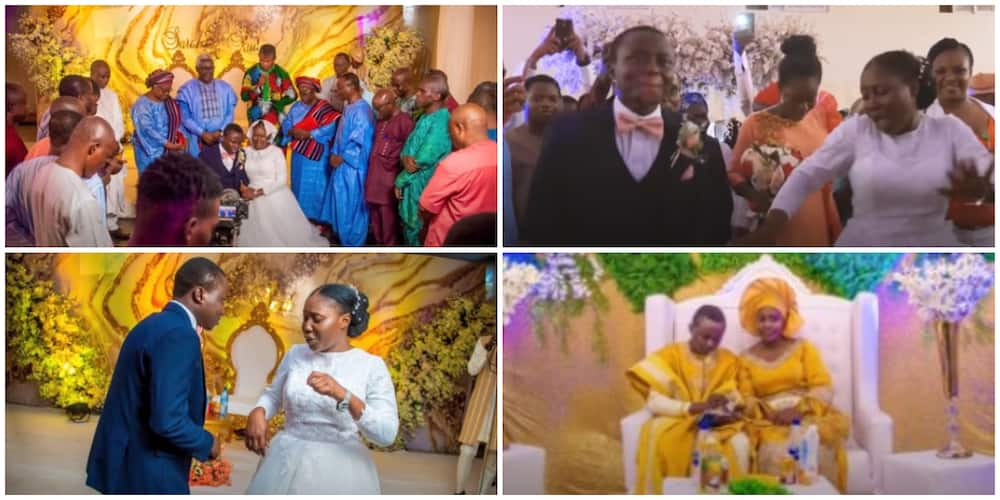 Photos, video from a glamourous Deeper Life Church wedding causes huge stir on social media