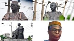 Abun dariya abun haushi: An sace madubin idon gunkin Awolowo a Lagos (hotuna)