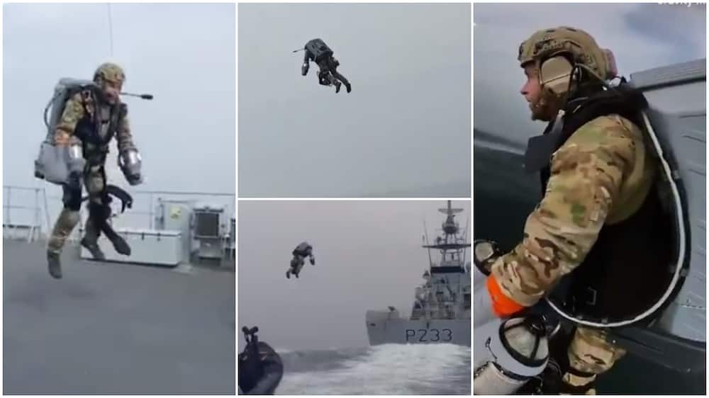 UK Army tests suit that can make their soldiers fly in the air, video stirs reactions