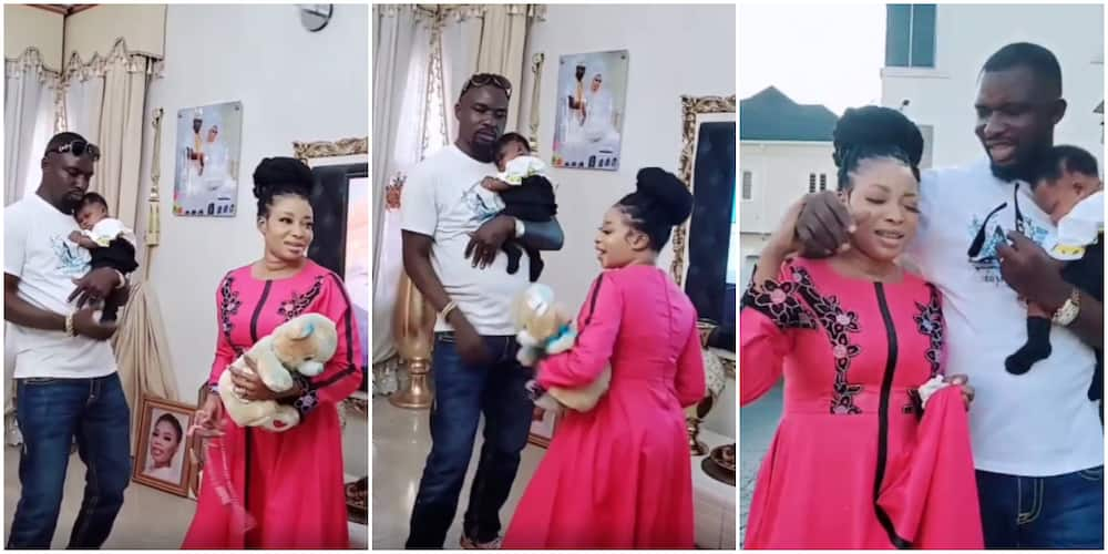 Lizzy Anjorin and her hubby dance