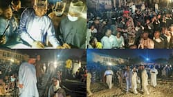 Governor Zulum storms IDPs camp at 1am, discovers 650 ghost households; Photos spark reactions