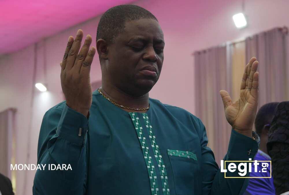 FFK in prayer mood