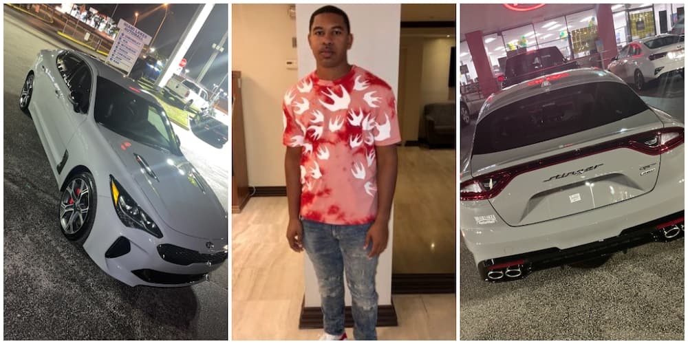 Man Becomes the Latest Kia Stinger Car Owner, Shows Off the N13.6m Ride, Many React
