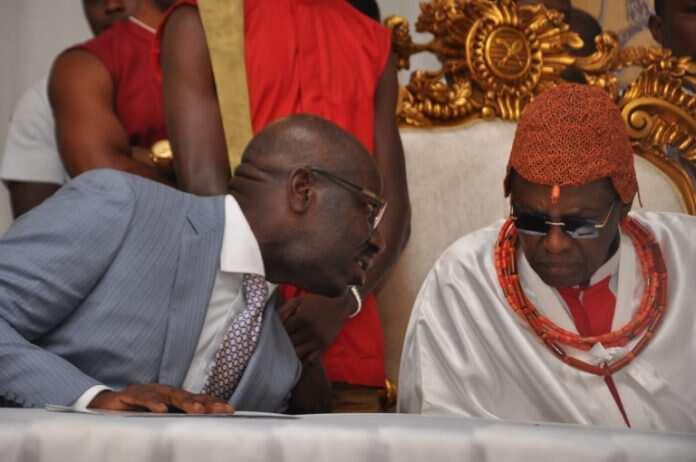 Zaben Edo: APC ta zargi Obaseki da cin mutuncin Sarkin Benin