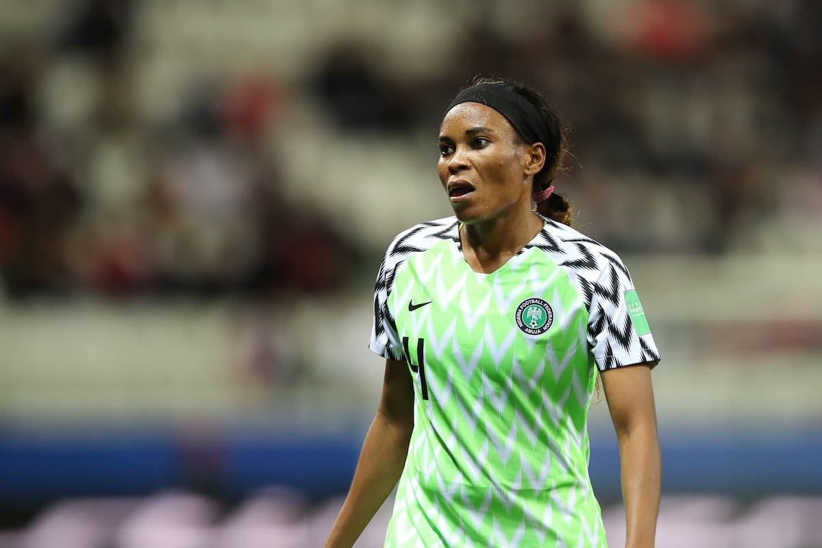Super Falcons' Ngozi Ebere makes history after red card against France in World Cup